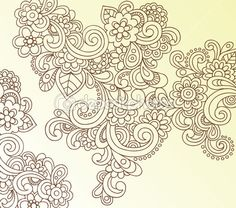 Hand-Drawn Paisley Doodles  by blue67 - Imagen vectorial