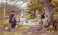 George Goodwin Kilburne - The Picnic