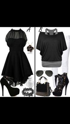 I really enjoy black