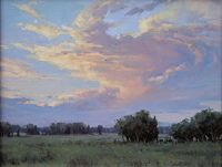 Evening Glow by Bruce Peil Oil ~ 11 x 14