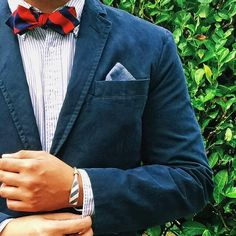 "There are way too many ""holidays"" to keep track of these days, but I'm ok with #NationalBowTieDay // IG:@jeffdepano"
