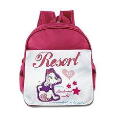 MYKKI Cute Cartoon Dog Children Cool Backpack Pink ** For more information, visit image link.