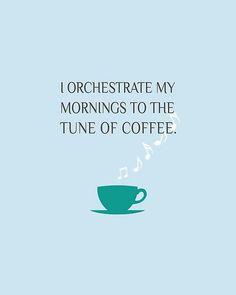 tune of morning coffee