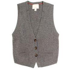 Banana Republic Heritage Pure Cashmere Vest Waistcoat