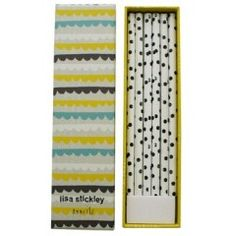 Lisa Stickley Box of Witty Pencils to go with your journals ... http://www.quadrille.co.uk/stationery