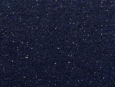 Tissu Molleton Bleu Marine / Lurex Doré en vente sur TheSweetmercerie.com