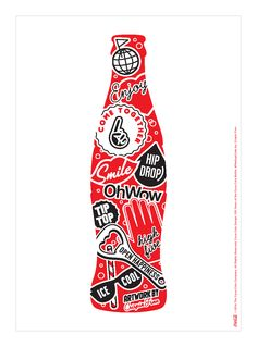 Kiss The Past Hello. Coca-Cola Design: 100 Years of the Coca-Cola Bottle. #MashupCoke by: Crispin Finn @crispinfinn