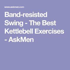 Band-resisted Swing - The Best Kettlebell Exercises - AskMen