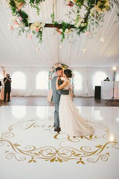 New decor wedding ceiling dance floors Ideas Ballroom Wedding Reception, Romantic Wedding Receptions, Dance Floor Wedding, Wedding Music, Mod Wedding, Wedding Reception Decorations, Romantic Weddings, Dream Wedding, Reception Ideas