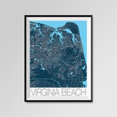Virginia Beach Map Print - Minimalist City Map Art of Virginia Beach Poster - Wall Art Gift - COLORS - white, blue, red, yellow, violet Virginia Beach map, Virginia Beach print, Virginia Beach poster, Virginia Beach map art, Virginia Beach gift  More styles - Virginia Beach - maps on the link below https://www.etsy.com/shop/PFposters?search_query=Virginia+Beach.