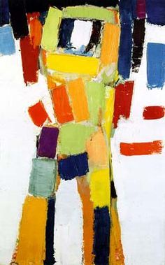 Nicolas de Staël - Artist XXè - Abstract Art  - Figure