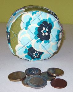 Patchwork Estudio: Porta monedas
