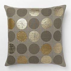 Metallic Circles Pillow Cover #westelm