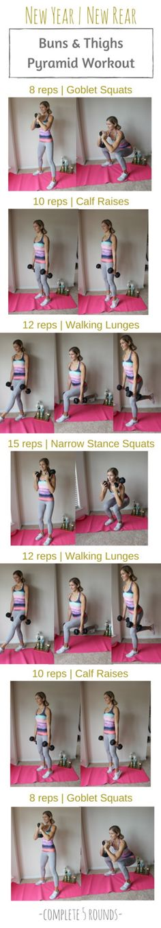New Year, New Rear! Check out this amazing lower body blaster from one of our favorite fitness bloggers, Lauren Gleisberg!