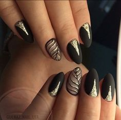Awesome Nail Designs Collection most fashionable golden and black leaf nail art designs to Awesome Nail Designs. Here is Awesome Nail Designs Collection for you. Awesome Nail Designs awesome nail art idea with marble and glitter ideas de una. Hallographic Nails, Diy Nails, Cute Nails, Hair And Nails, Nails 2018, Purple Ombre Nails, Nagel Hacks, Trendy Nail Art, Gel Nail Designs