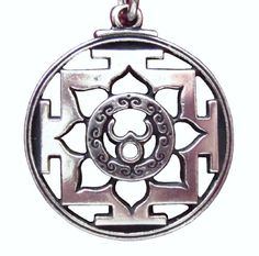 Trisula Yantra Hindu Buddhist Buddhism Pendant Mantra Necklace Lotus Vajra Jewelry by Goth Central. $14.99. The Sanskrit word yantra, means a meditation sign. By focusing on a mandala or yantra during meditation practice, the devotee is guided toward spiritual enlighten ment. Our Meditation Mandala is designed to invoke the great spiritual power of the joining of masculine and feminine energies; the union of Shiva and Shakti, the Divine Being. Use it to enhance your own spirit...