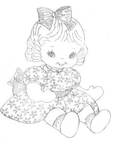 Hand Embroidery Quilt PATTERN Design 7176 Little Girl & Train 1950s | eBay