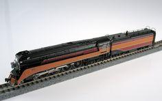 Kato N 1260306 4-8-4 Lima Locomotive Works GS-4, Southern Pacific Lines (Daylight Scheme) #4450 | ModelTrainStuff.com