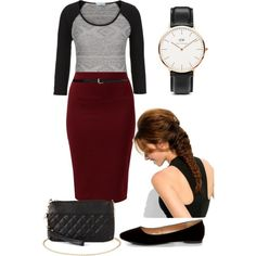 A fashion look from January 2015 featuring Classified flats, Charlotte Russe handbags and Daniel Wellington watches. Browse and shop related looks.