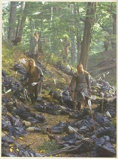 Lothlorien, unused scene, Lord of the Rings