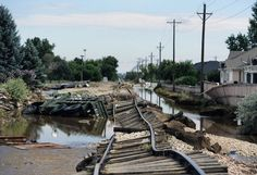 28Z Wyoming train traffic spikes as Colorado flooding reroutes trains ...