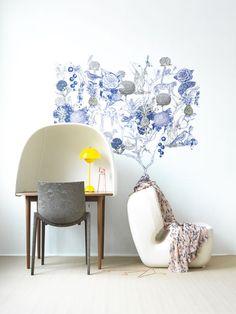 wallpaper ideas via Styling Lo Bjurulf, Photography Stellan Herner for  Elle Interiör