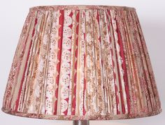 Silk saree lampshade by Samarkand