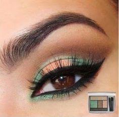 Descubre cómo hacer un maquillaje en marrón y verde con este tutorial