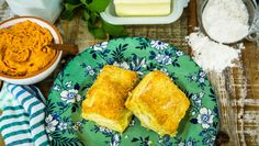 Sausage-Sage Biscuits with Goat Cheese Butter