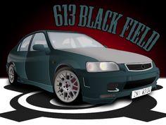 car black field