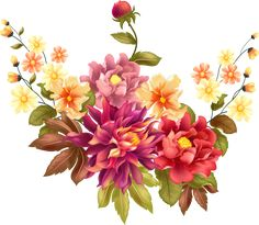 Flower Art Images, Decoupage, Floral Wreath, Wreaths, Wallpaper, Drawings, Flowers, Plants, Home Decor