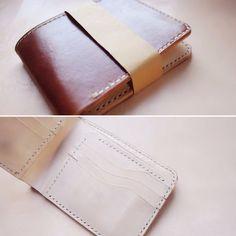 #leather #leathercraft #indonesia #jogja #kulit #hoslygoods #bifold #wallet