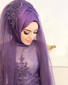 Yg g - Urbanur Wedding Hijab Styles, Muslim Wedding Dresses, Muslim Brides, Pakistani Bridal Dresses, Muslim Dress, Wedding Dress Sleeves, Muslim Couples, Dress Wedding, Hijab Dress Party