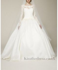 vintage lace wedding dresses with sleeves - Looks just like my dress!