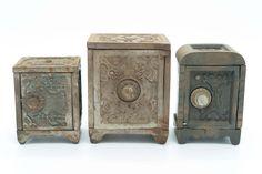 3 Cast Iron Combination Banks