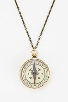 Urban Outfitters Compass Necklace on shopstyle.com.au. Only approx $35 plus shipping, but could then give her the rest of the money.