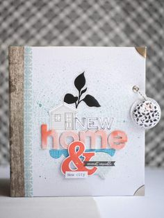 Album New city, new home - Julie Blanc Agenda Bullet, Bullet Journal, Minis, Mini Albums Scrapbook, New City, Craft Fairs, Illustration, New Homes, Projects