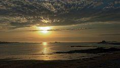 Coucher de soleil saint malo assemblage de 7 prises de vues
