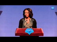 The First Lady on the importance of International Education - YouTube
