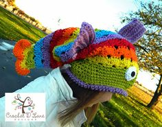 The Rainbow Fishy Hat