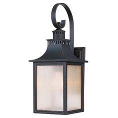 Pale Cream Seeded Glass Outdoor Wall Light Black Savoy House | 5-258-25 | Destination Lighting