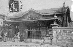 L'ancienne Gare de Charonne du réseau de la Petite Ceinture de Paris