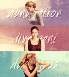 From Beatrice to Tris, from Abnenition to Dauntless