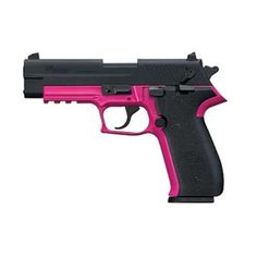 Sig Sauer Mosquito Semi-automatic Double Action Full 22LR 3.98 Pink Polymer Blue Plastic 10Rd 1 Mag Adjustable Sights MOS-22-PNK