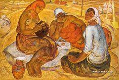Аракчеев Борис Владимирович. «Хлеб» 1969