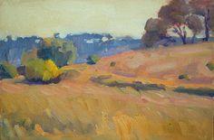 Autumn III, oil on canvas on board,  20 x 30 cm, (9″ x 12″)