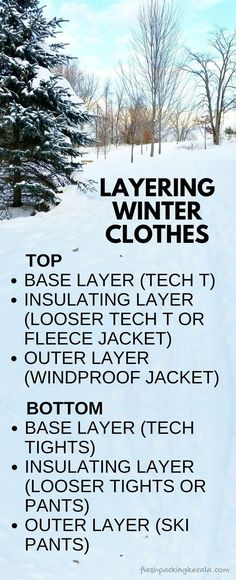 to layer clothes for cold weather :: Winter vacation tips. Outdoor travel gear -How to layer clothes for cold weather :: Winter vacation tips. Winter Layering Outfits, Outfits Winter, Winter Travel Outfit, Winter Packing, Packing List For Travel, Cold Weather Outfits, Winter Clothes, Budget Travel, Travel Tips