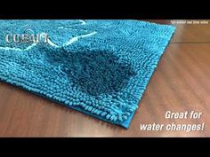 Cobalt's new Aqua Sponge Mats may well save your floors during routine maintenance; they can absorb up to 1 gallon of water per 5 square feet!