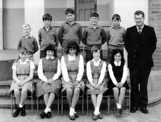 The gym frock, worn by these Foxton school girls in 1966, became the standard girls' school uniform from the First World War onwards. By the time this photo was taken, gym frocks were making their exit in favour of kilts and simpler tunics. The boys' uniform would not be out of place in the 21st century.