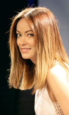 Square Shaped Faces THE LOB When you look at the long bob (aka lob) from the front, like Olivia Wilde's, the two straight side panels of hair that hang down right beside each cheekbone, slightly mask the width of the cheekbones, forehead, and jawline that widen a square face. These factors combined is why this style is spot-on for an angular shape